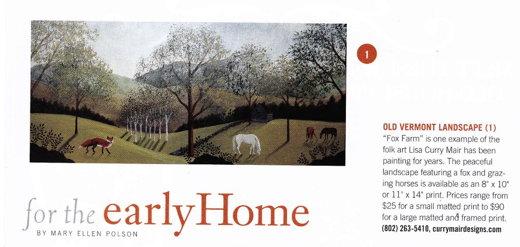 Early Homes Feature