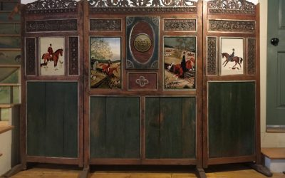 An exciting new project-Antique Folding Screen