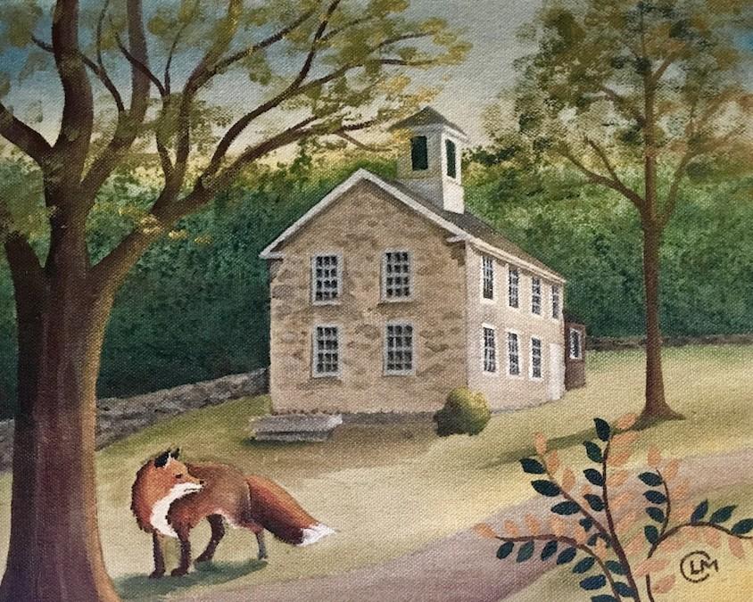 Fox & Schoolhouse