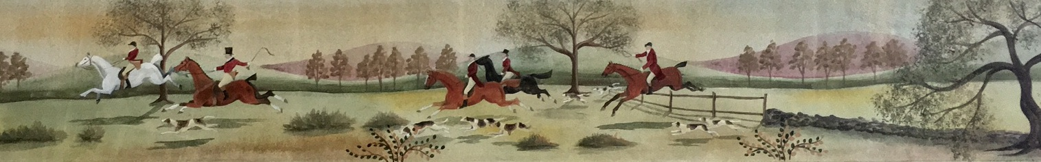 Foxhunt Paintings And Murals Canvasworks Designs