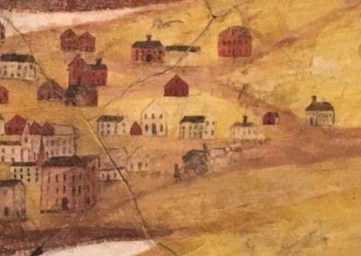 Detail of Porter's mural