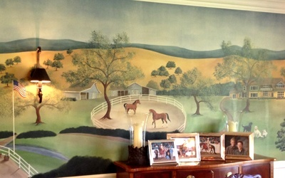 California Ranch Mural