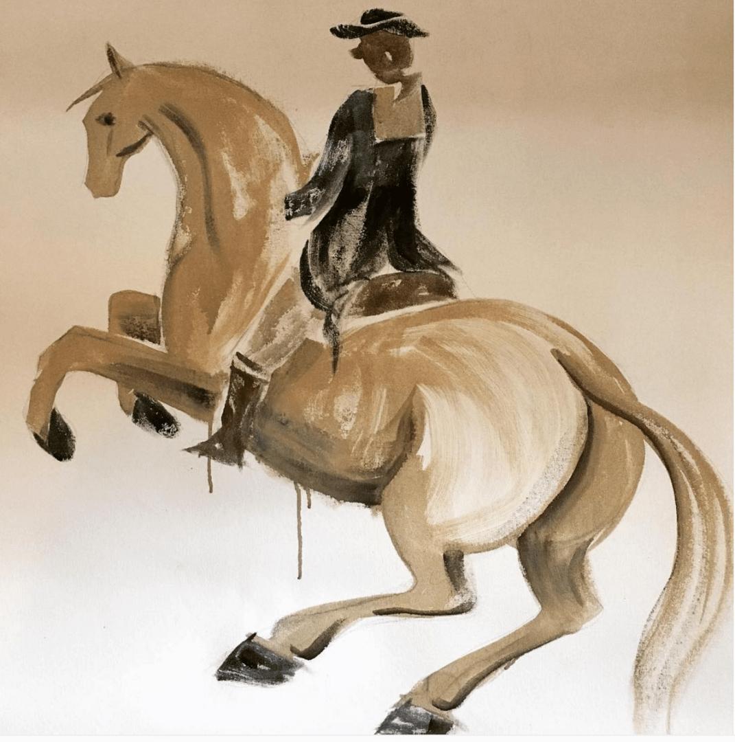 Olde World Dressage Rider