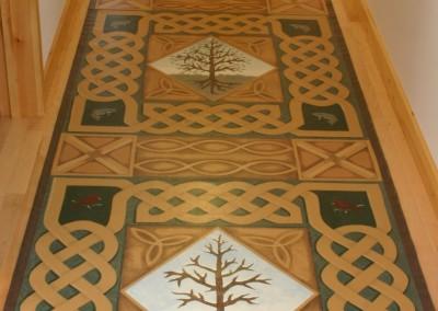 Celtic Tree of Life runner
