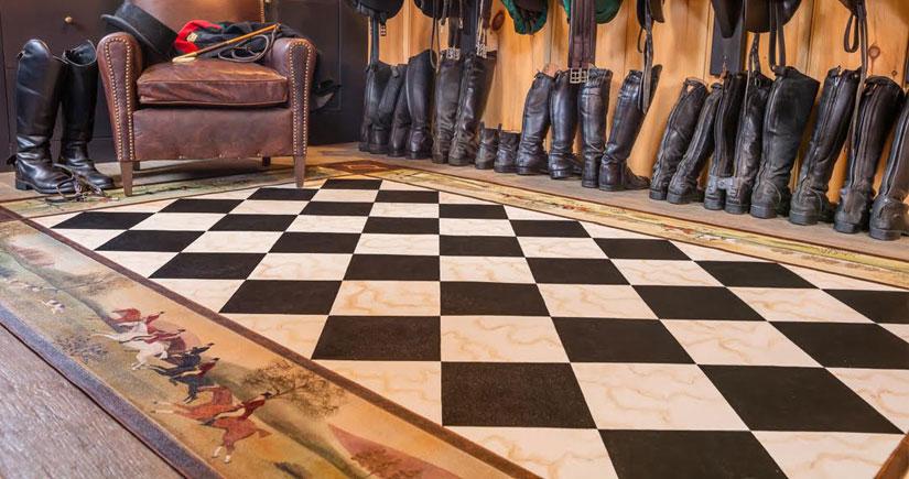 Quality Bespoke Handmade Floorcloths